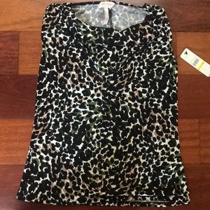 NWT Laundry by Shelli Segal racerback top